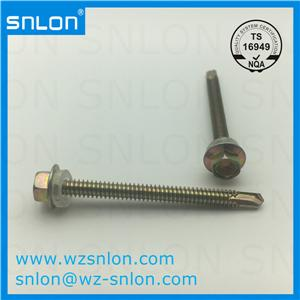 Hexagon Flange Head Tapping Self Drilling Screws