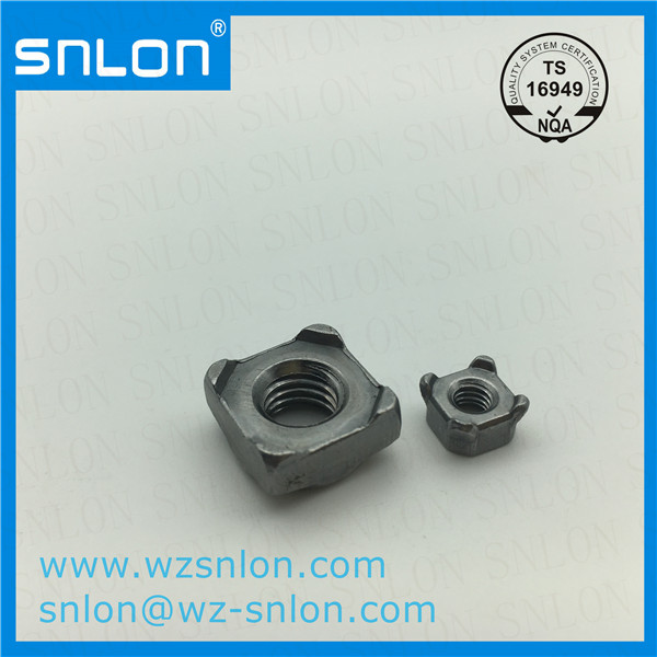 Carbon Steel Square Weld Nut Manufacturers, Carbon Steel Square Weld Nut Factory, Supply Carbon Steel Square Weld Nut