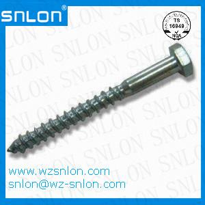 Din 571 Hexagonal Head Wood Screw