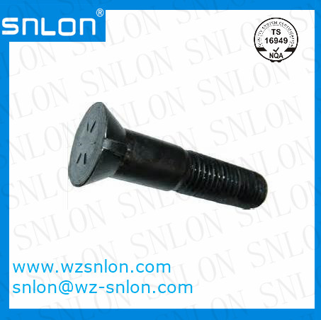 Flat Head Plow Bolt High Tensile