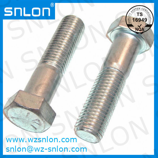 High Strength Hex Cap Screw Asme B1821 Manufacturers, High Strength Hex Cap Screw Asme B1821 Factory, Supply High Strength Hex Cap Screw Asme B1821