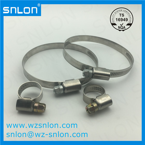 Stainless And Carbon Steel Hose Clamp