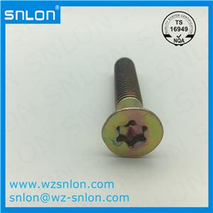 Inside Plum Blossom With Countersunk Head Screw