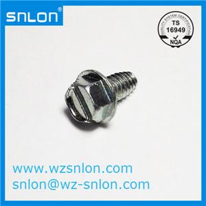 Slotted Hex Head Flange Bolt