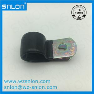 EPDM Rubber Lined R Shape Pipe Clip