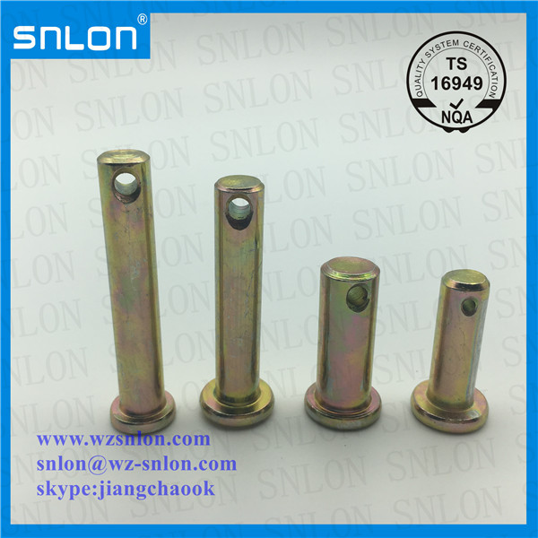 Zinc Plated Carbon Steel Clevis Pin