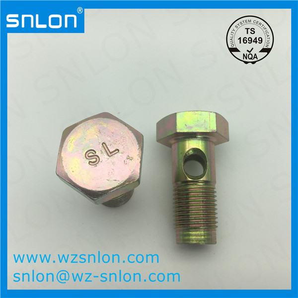 Customized Hex Head Bolt With Hole