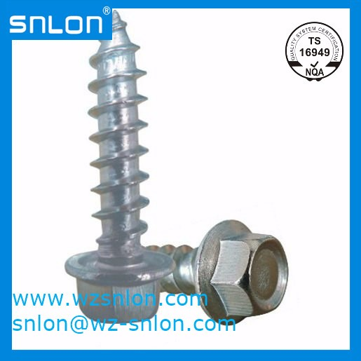 Hexagon Flange Head Tapping Screw Manufacturers, Hexagon Flange Head Tapping Screw Factory, Supply Hexagon Flange Head Tapping Screw