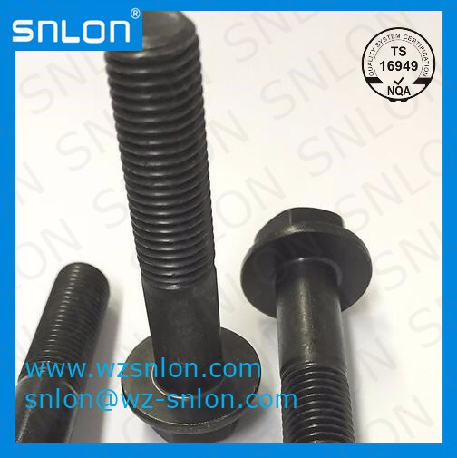 Iso 15072 Flange Bolt With Metric Fine Thread