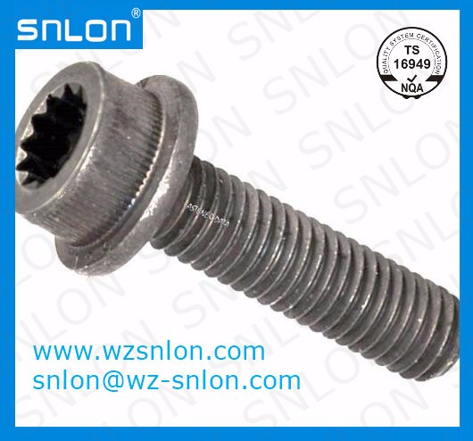 Din34824 12 Point Internal Drive Flange Bolt