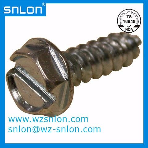 Slotted Flange Head Tapping Screw