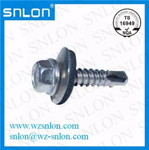 Din7504l Flange Head Self Drilling Screw Epdm Washer