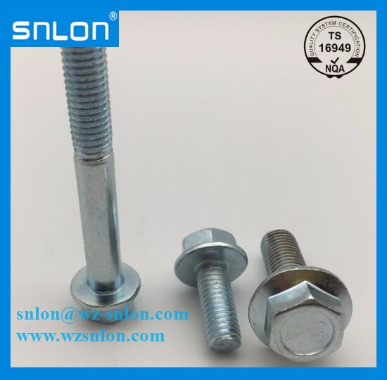 Carbon Steel Hex Flange Bolt Unc