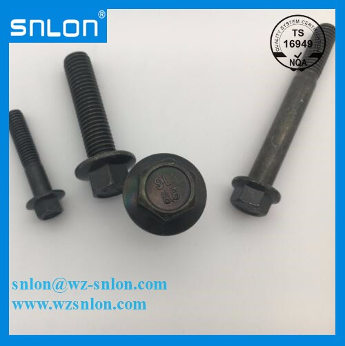 En14219 Small Flange Bolts With Fine Pitch