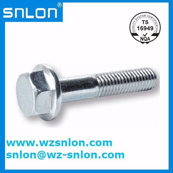 Din6922 Hexagon Flange Bolt