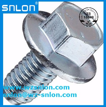 Flange Bolts Full Thread Ifi 111 Grade 5