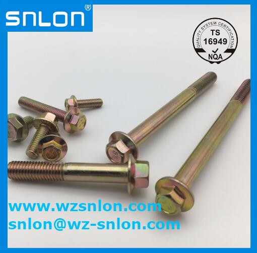Flange Bolts Partial Thread Serrated Manufacturers, Flange Bolts Partial Thread Serrated Factory, Supply Flange Bolts Partial Thread Serrated