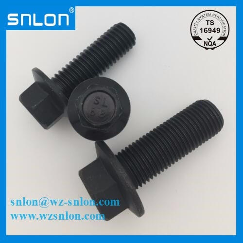 Iso4162 Hexagon Flange Bolt Small Series