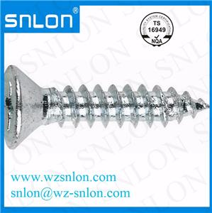 Din7982 Countersunk Flat Head Self Tapping Screw