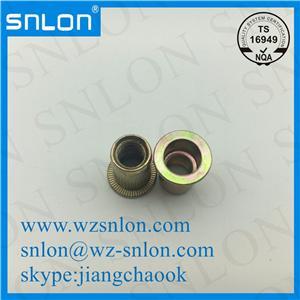 Yellow Zinc Hollow Tubular Rivets
