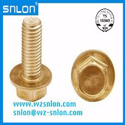 Brass Flange Bolt