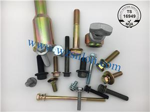 Application of threaded fasteners in automobile assembly