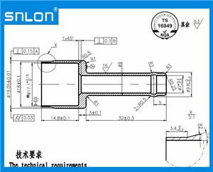 Inlet Connector For TOYOTA with LEVEL 3 PPAP