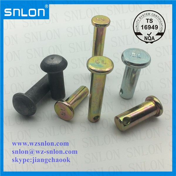 Round Head Rivet Flat Head Rivet Manufacturers, Round Head Rivet Flat Head Rivet Factory, Supply Round Head Rivet Flat Head Rivet