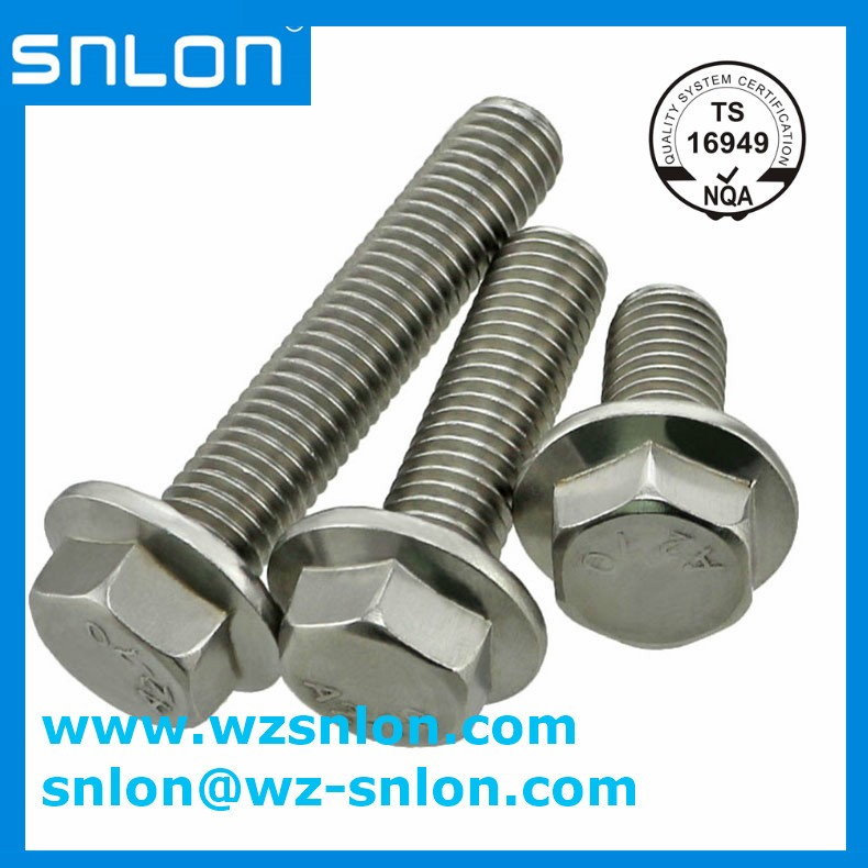 Hex Flange Head Cap flange bolt Screw