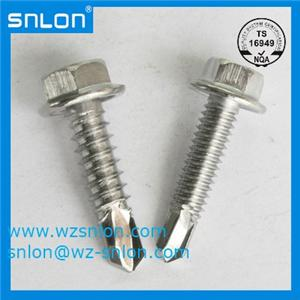 Hex Flange Self Drilling Screw with Washer