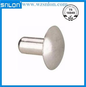 Large Mushroom Head Semi-tubular Rivet