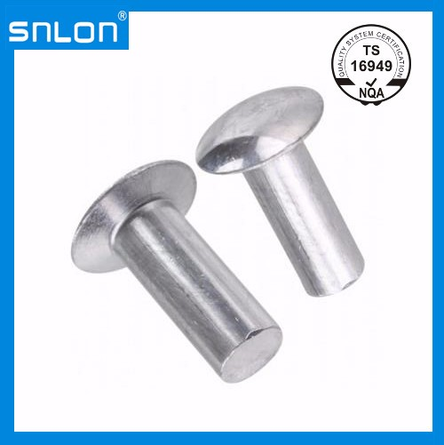 Aluminium Mushroom Head Rivet Manufacturers, Aluminium Mushroom Head Rivet Factory, Supply Aluminium Mushroom Head Rivet