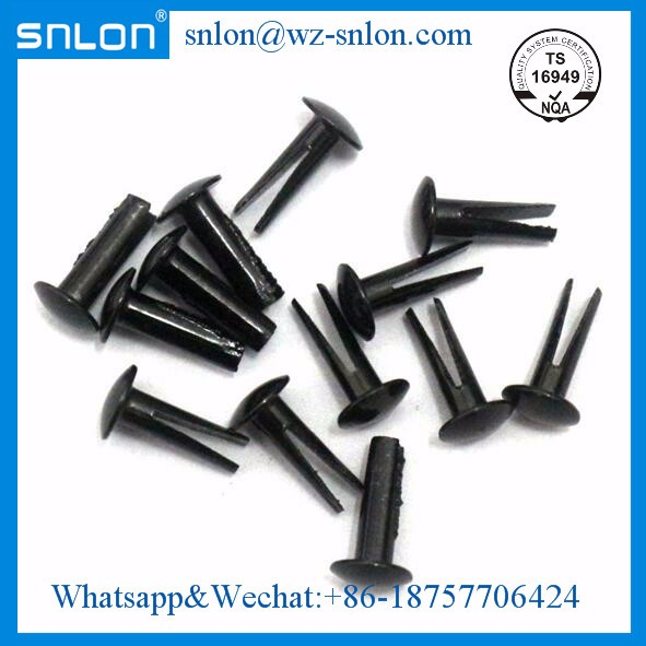 Steel split rivets bifurcated rivet round head