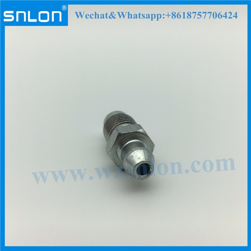 Steel Custom CNC Machining Bleeder Screw