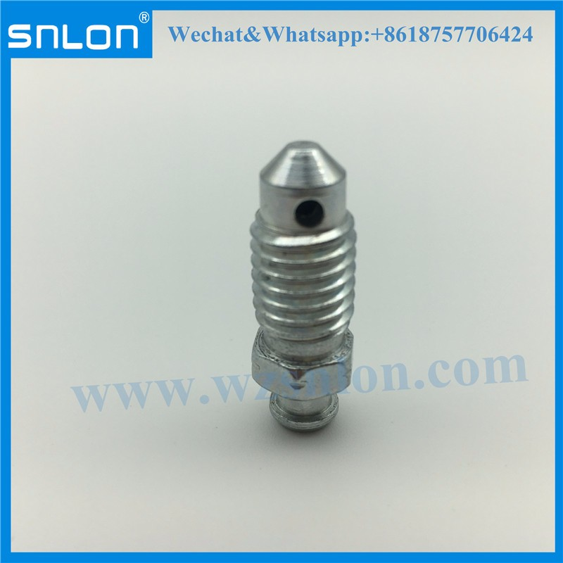 Auto Steel Bleeder Screw for Auto Parts