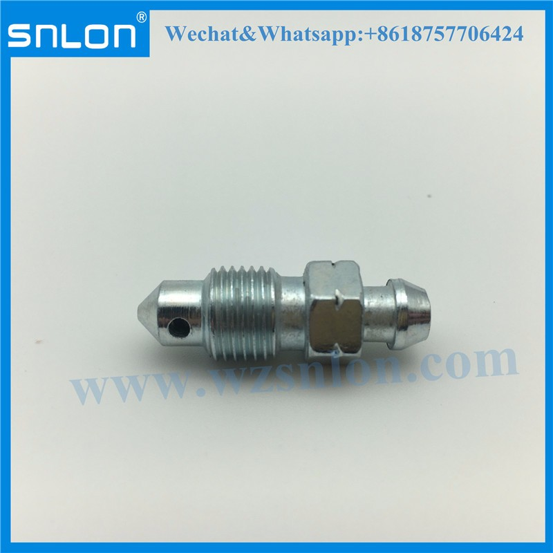 Stainless Steel Custom Bleeder Screw