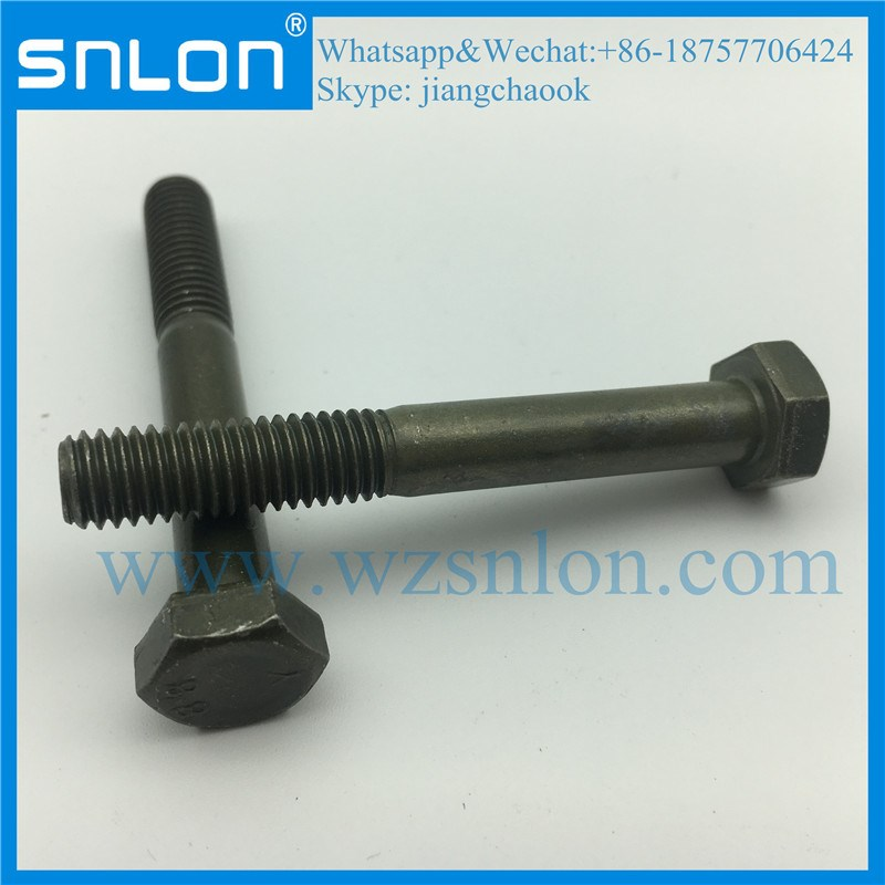 Zinc Steel DIN931 Partial Threaded Hex Head Bolt