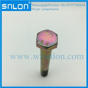 Yellow Zinc High Tensile Hex Head Bolt