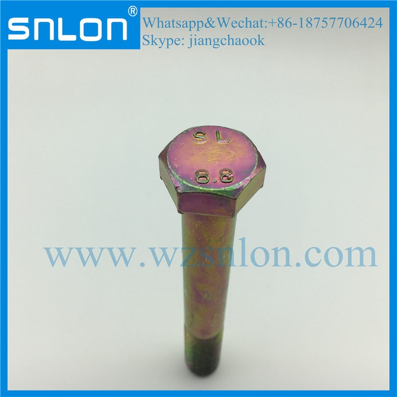 Titanium High Tensile High Strength Hex Head Bolt