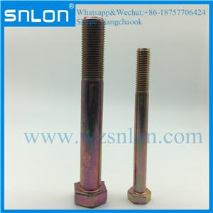 Titanium High Strength Hex Head Bolt for Auto Parts