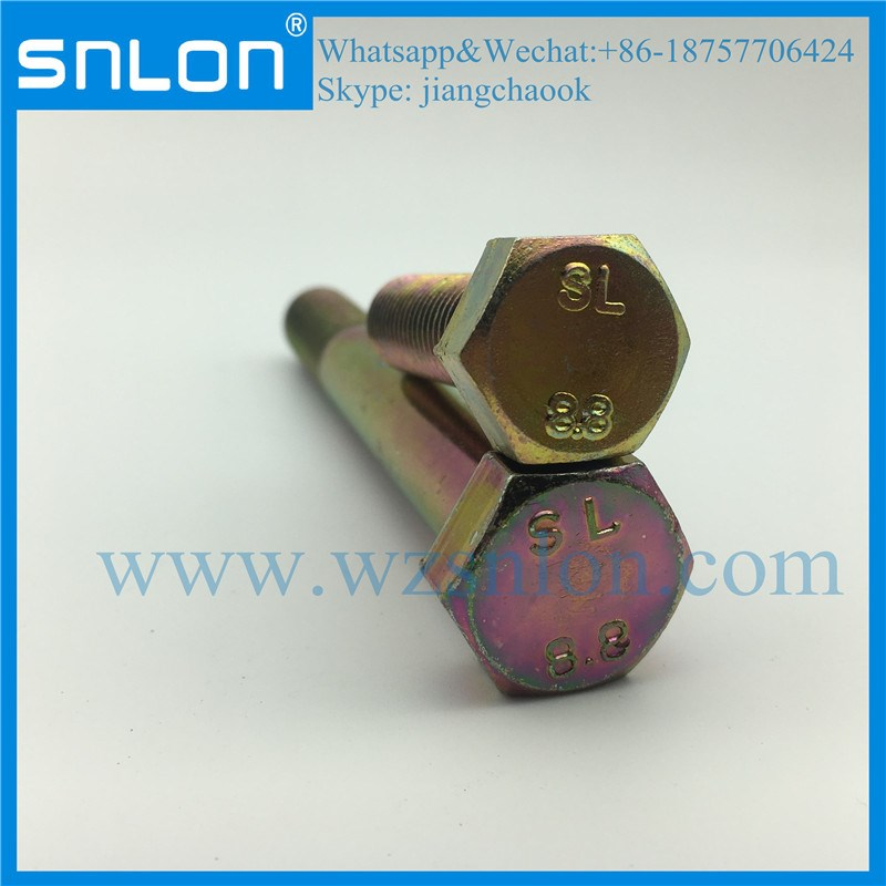 Grade 8.8 High Strength Bolt Screw for Auto Parts