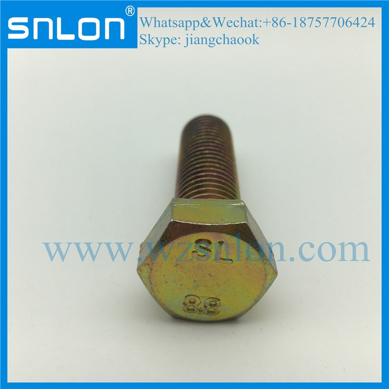 EN24017 High Strength Hex Bolt Screw for Auto Parts