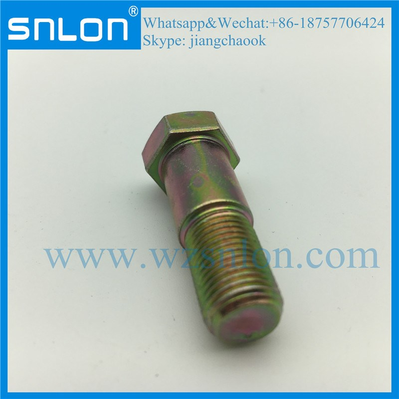 DIN931 Hexagon head bolt partially threaded