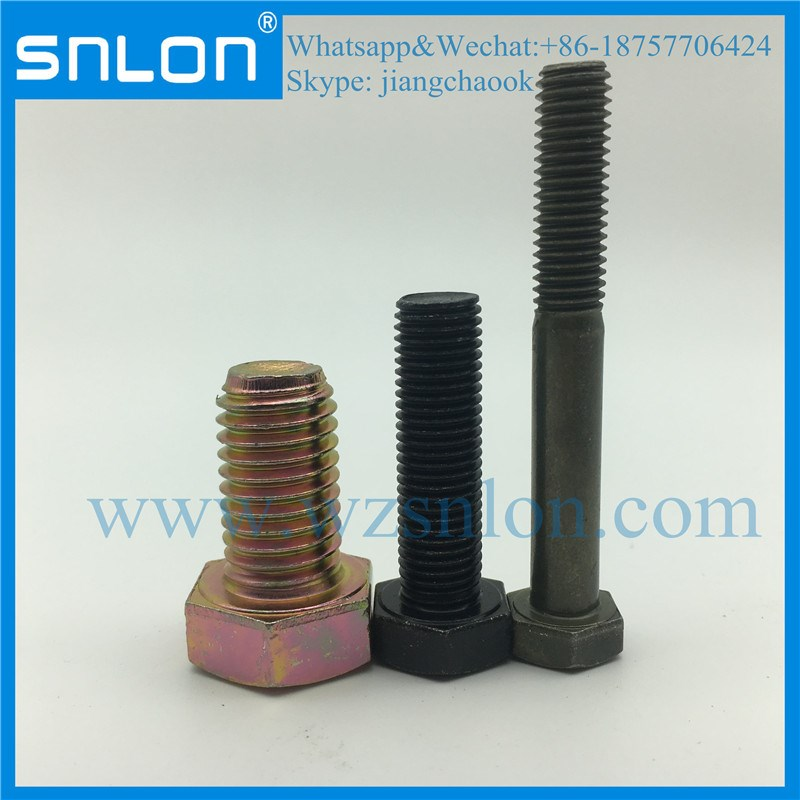 Hexagon Head Screws With Metric Fine Pitch Thread