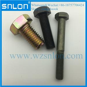 Hexagon Head Fine Pitch Bolts With Thick Shank