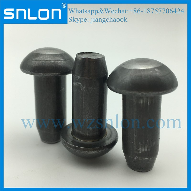 High Quality Round Head Solid Rivet with Chamfer