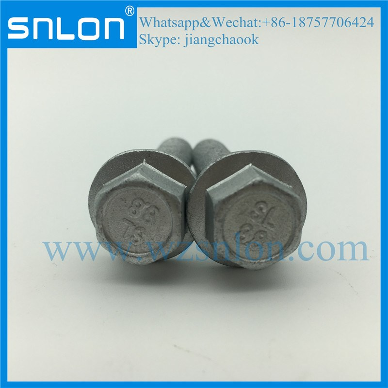 Dacromet Coating Hex Head Bolt With Flange