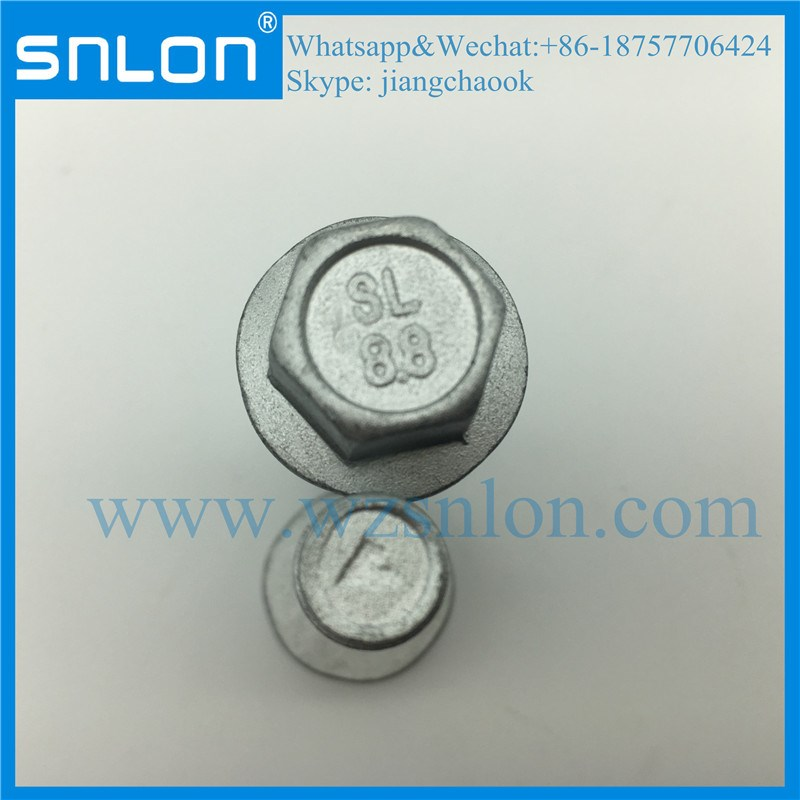 Grade8.8 Hex Head Bolt With Flange