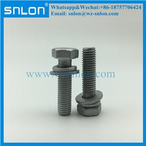 Wholesale Indented Hex Washer Head Sems Screw With Spring Washer