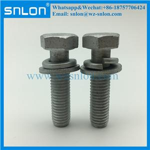 Made In Taiwan Hex Socket Low Thin Head Cap With Spring Washers Flat Washers Assembled Sems Screws